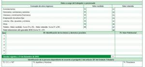 certificado de ingresos y retenciones