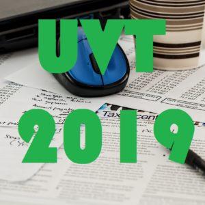 valor del uvt en el 2019
