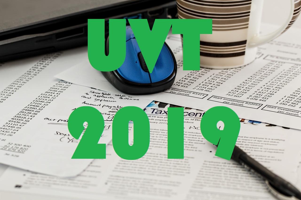 Valor del UVT del año 2018 1