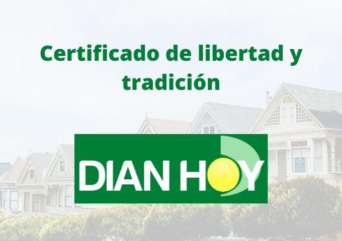 Certificado de libertad y tradición 30