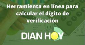 Calcular dígito de verificación en línea