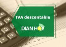 Qué es el IVA descontable