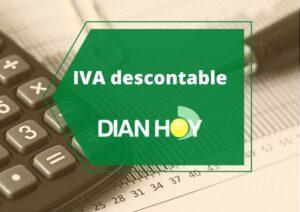 IVA descontable