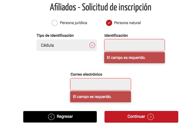 Cámara de comercio de Medellín: Trámites en línea 4