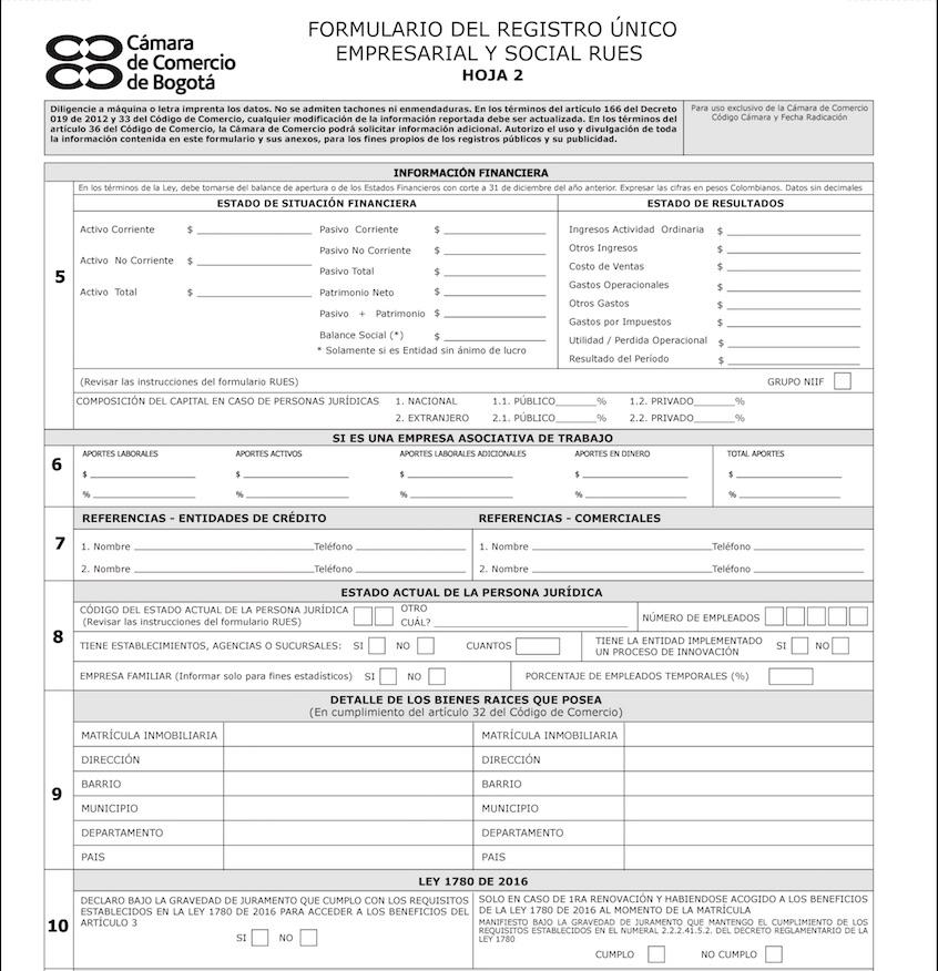 RUES: Consulta de empresas por NIT 8