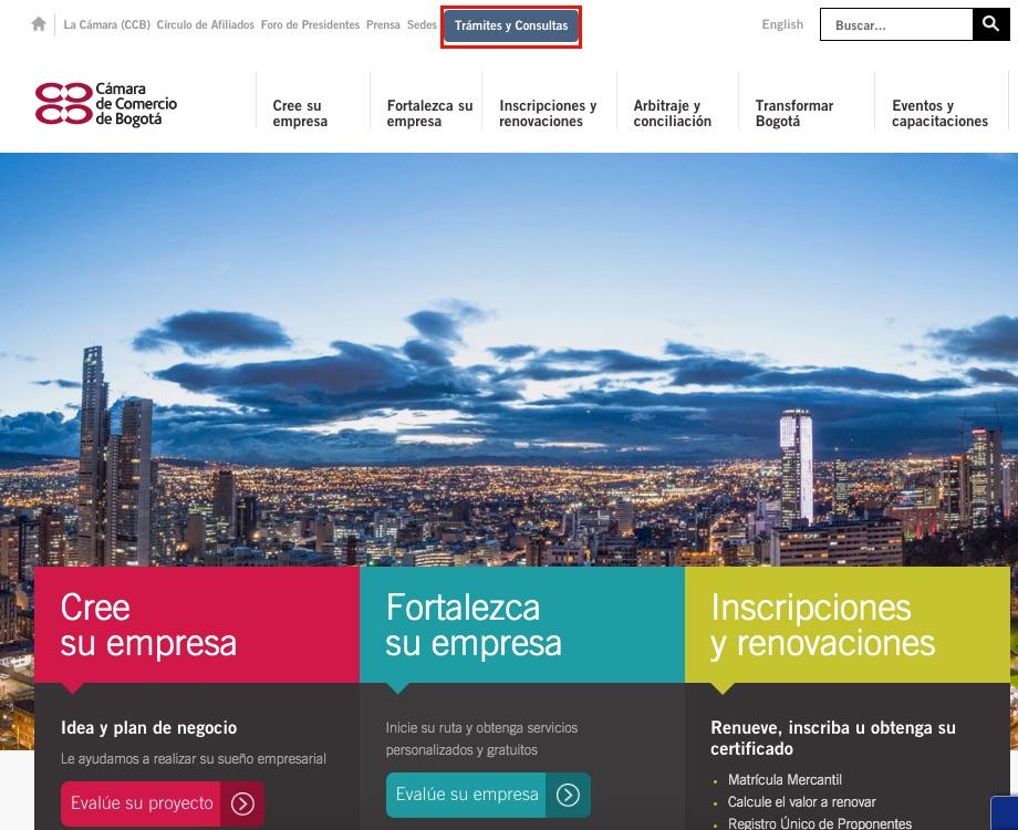 Registro Mercantil (RM): Renovación y consulta 1