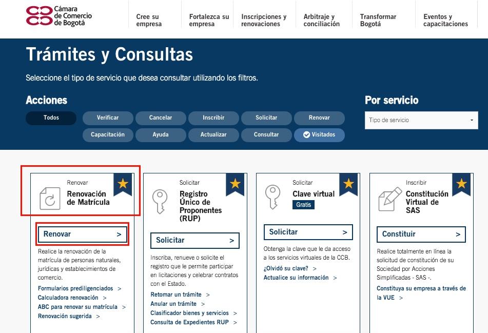 Registro Mercantil (RM): Renovación y consulta 2