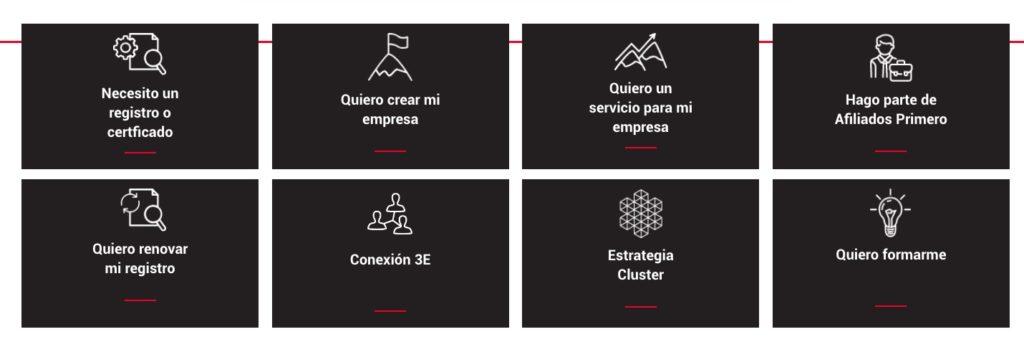 Cámara de comercio de Medellín: Trámites en línea 2