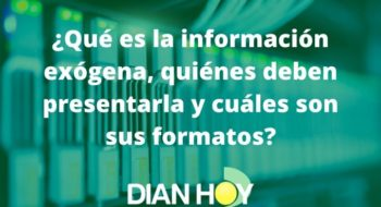 información exógena