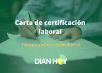 Carta laboral: ¿Qué es y Cómo se hace?