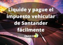 Liquide y pague el impuesto de vehículos de Santander