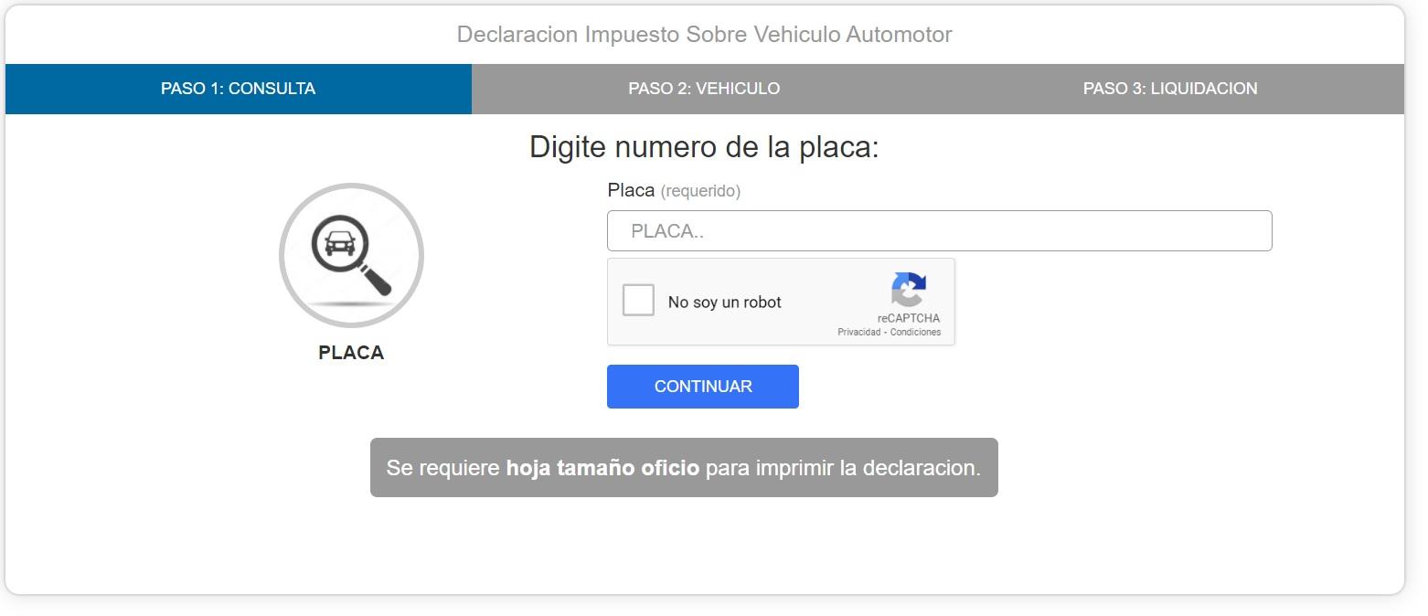 impuesto vehicular de Atlántico