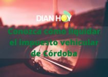 Liquidación Impuesto de vehículos en Córdoba