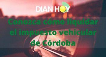 impuesto de vehiculos en cordoba