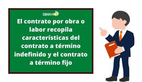 contrato por obra o labor