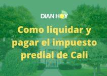 Liquidación y pago del impuesto predial de Cali