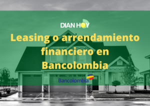 leasing en bancolombia