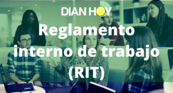 reglamento interno de trabajo RIT