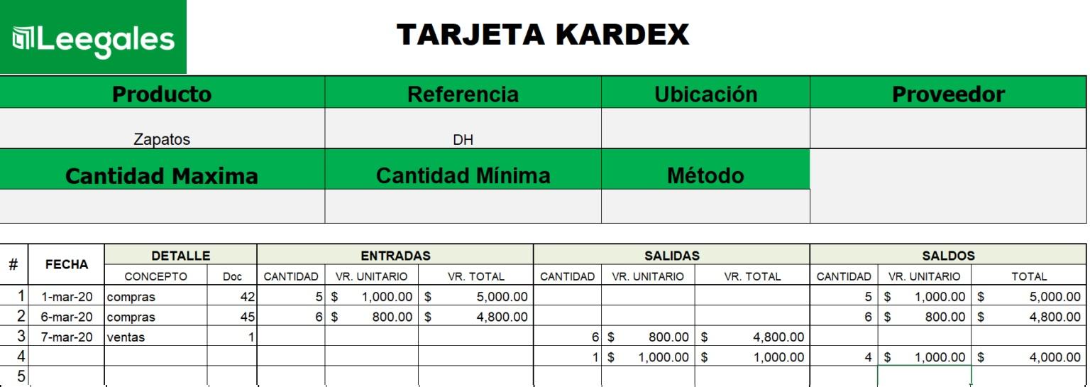 kardex ueps