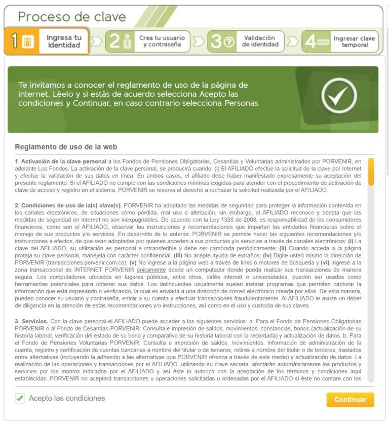 registro portal cesantias en porvenir