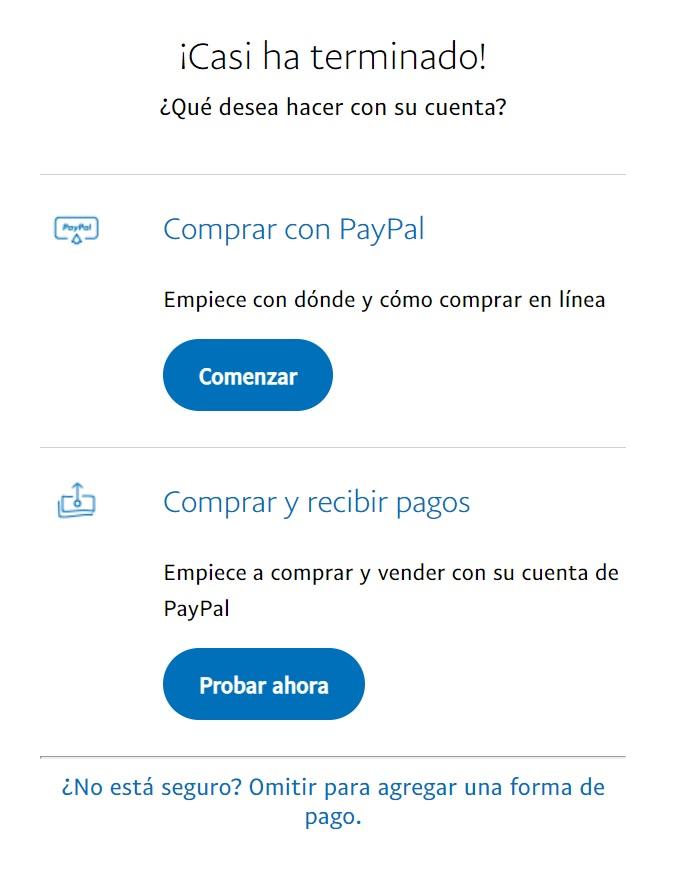 registro en paypal colombia