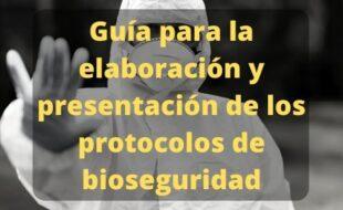 Protocolos de bioseguridad para la reactivación laboral