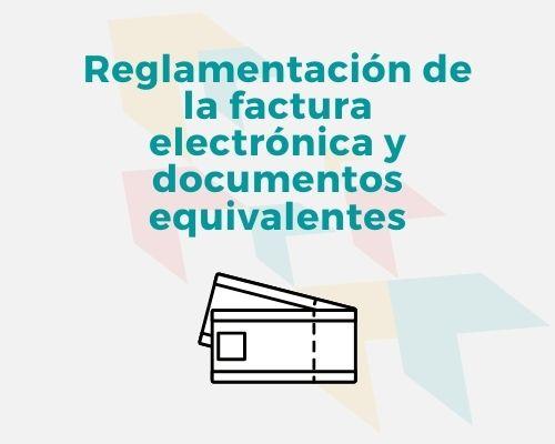 factura electronica y documentos equivalentes