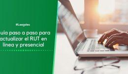 Cómo actualizar el RUT por Internet