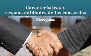 ¿Qué es un consorcio y cuáles son sus responsabildiades?