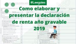 Guía para elaborar y presentar la declaración de renta en el 2020