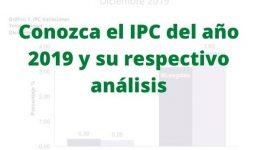 IPC del año 2019 Colombia: Conozca cuál fue la inflación