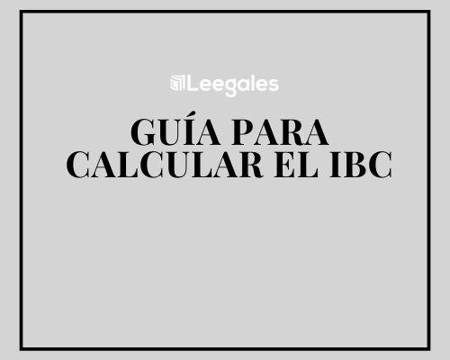 calcular el ibc