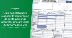 Guía para elaborar y presentar la declaración de renta en el 2021