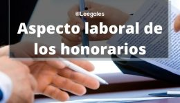 Honorarios: Aspectos legales
