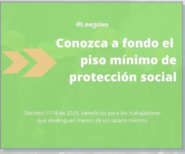 piso de protección social