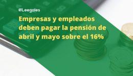 Las personas que cotizaron pensión sobre el 3%, deberán pagar el valor restante en 3 años
