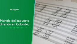 Manejo del impuesto diferido en Colombia