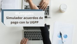 Simulador de acuerdos de pago de la UGPP ley 2010 de 2019