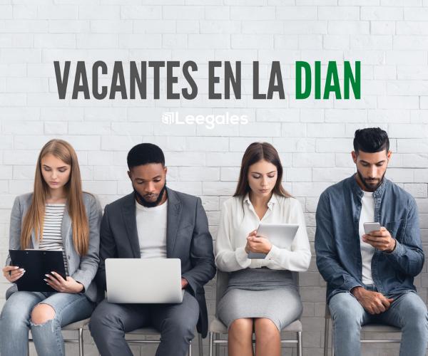 ofertas de empleo en la DIAN
