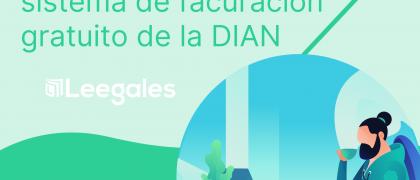 Servicio de facturación electrónica gratuita de la DIAN