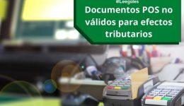 Documentos POS: Cambios que se deben implementar desde noviembre