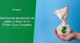 Solicitud de devolución de saldos a favor en la DIAN: Guía Completa