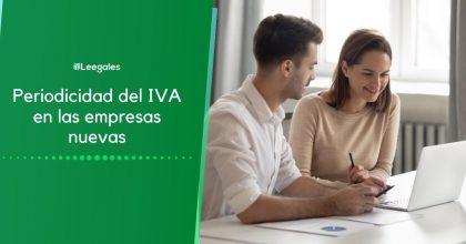 IVA en las empresas nuevas