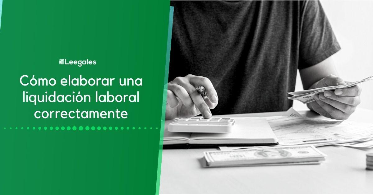 Liquidación de prestaciones sociales en trabajos por días 1