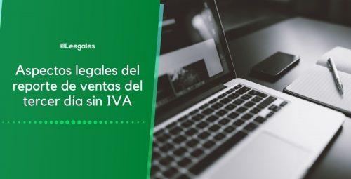 Reporte de ventas del tercer día sin IVA