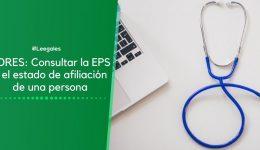 Adres Fosyga: Consultar la EPS de una persona