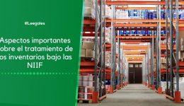 Manejo de los inventarios bajo NIIF