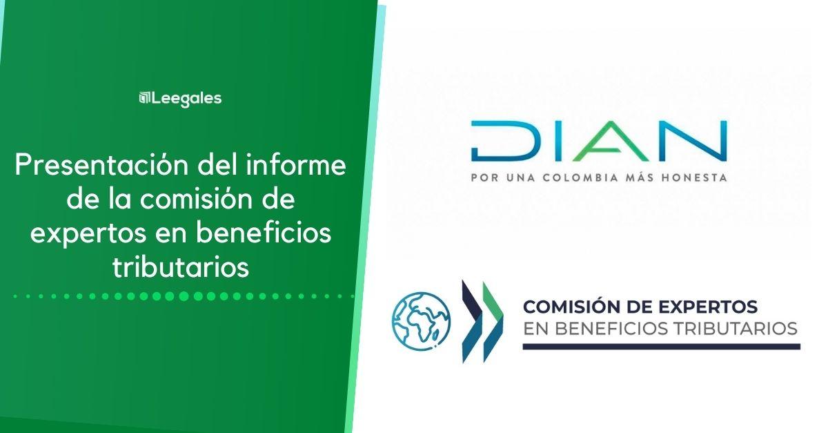 Informe de la comisión de expertos en beneficios tributarios