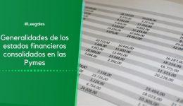 Estados financieros consolidados en las NIIF para Pymes
