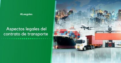 Contrato de transporte: Aspectos legales